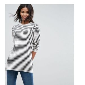 New without tags striped top
